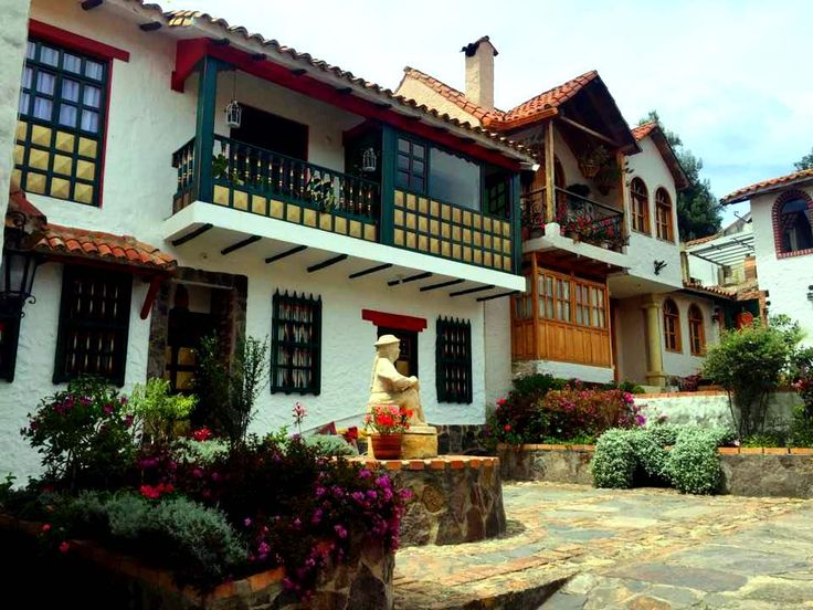 Colombia - Pueblito Boyacense, Boyaca.