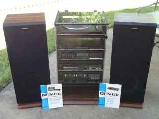 Fisher Stereo High Fidelity System Ph 400 on PopScreen | DKR Auto ...
