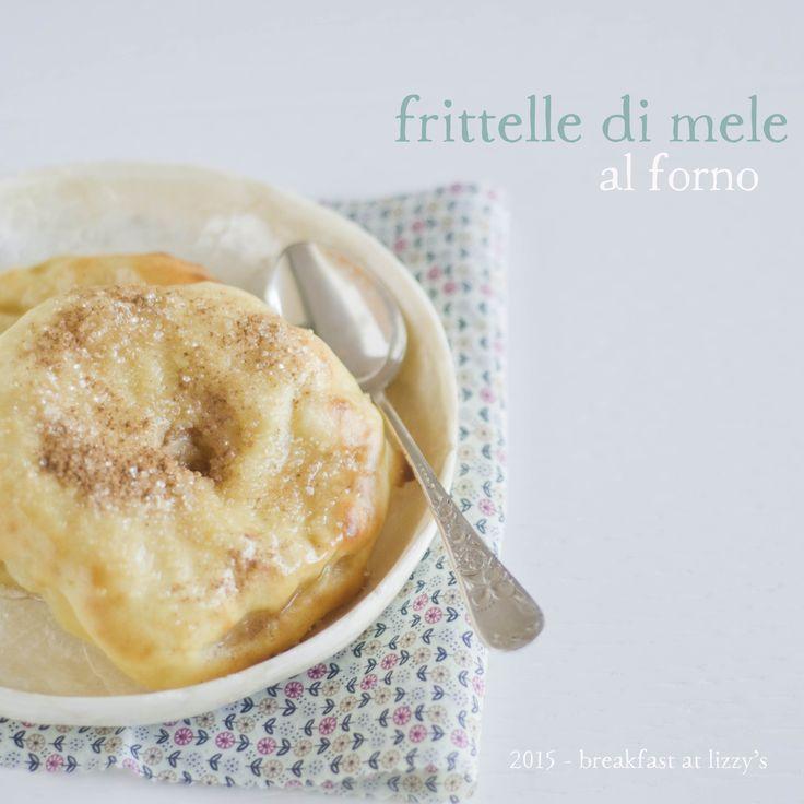Si chiamano frittelle di mele ma sono cotte in forno. Un'alternativa sana e comunque gustosa.