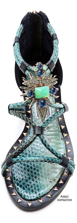 Ivy Kirzhner Basil Flat Embellished Sandals | Purely Inspiration