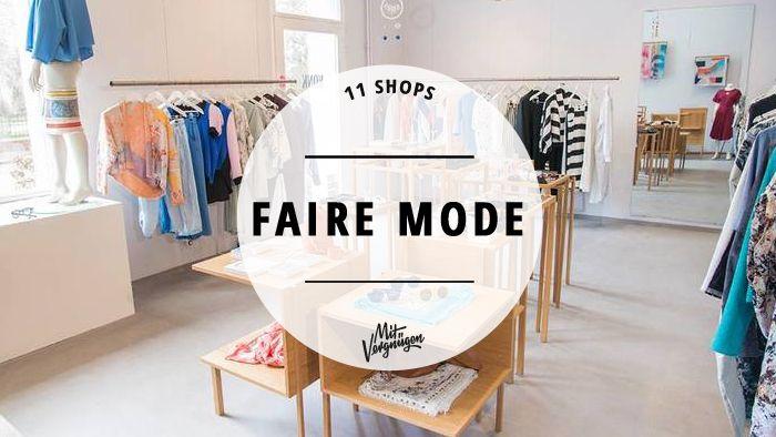 In Berlin gibt es so einige grandiose Läden, die sich das Entwerfen und Verkaufen fairer, ökologischer Kleidung auf die Fahnen geschrieben haben.