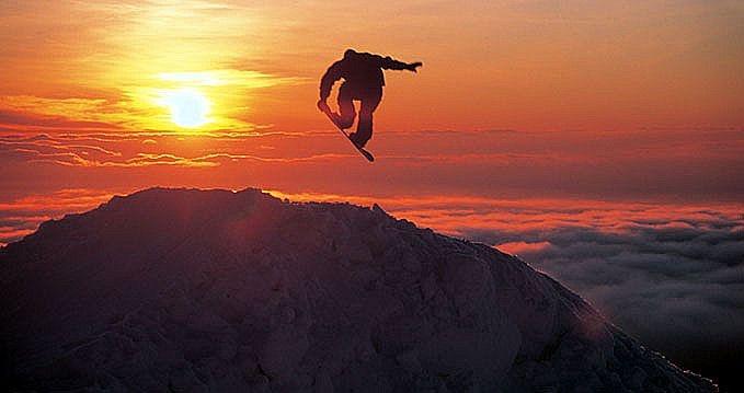 Snowboard en chile #Pucon