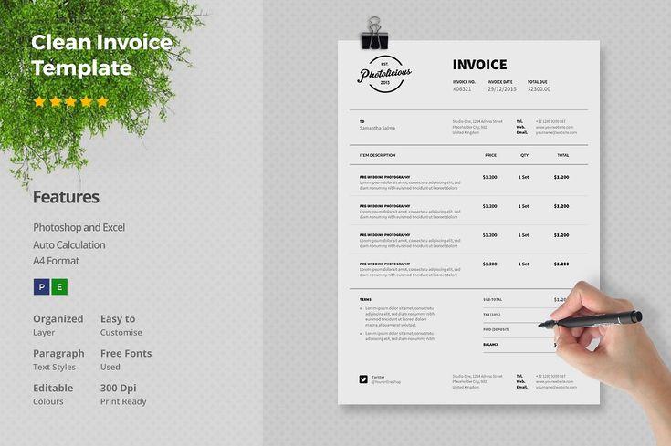 Afbeeldingsresultaat voor invoice design