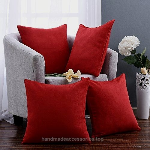 Pony Dance Contemporary Throw Pillow Covers Cushion Shams/Cases Super Soft Pillowcase for Livingroom,Red,18″ x 18″,Set of 4  Check It Out Now     $3.99      Decor your home with Pony Dance cushion cover-The ideal,must-have throw pillow cover for you!  The pillow cover fea ..  http://www.handmadeaccessories.top/2017/04/07/pony-dance-contemporary-throw-pillow-covers-cushion-shamscases-super-soft-pillowcase-for-livingroomred18-x-18set-of-4-2/