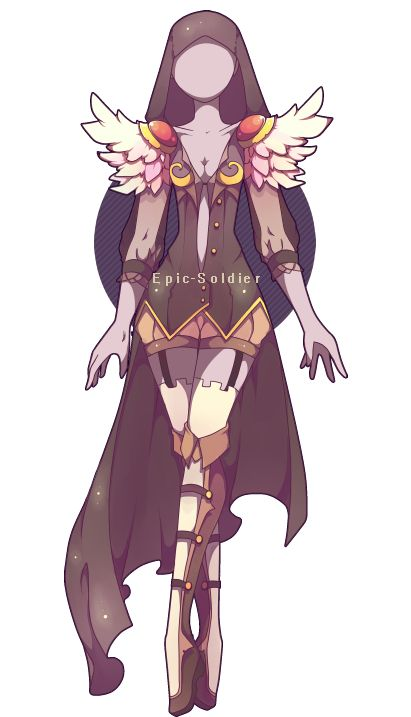 Outfit adoptable 27 (OPEN!) by Epic-Soldier.deviantart.com on @DeviantArt