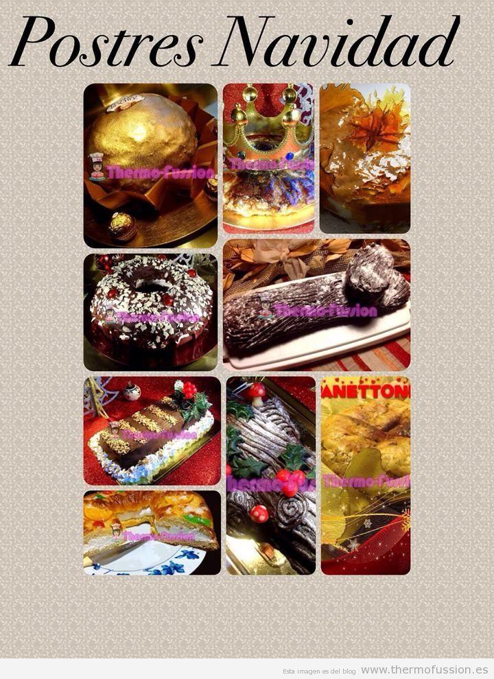 RECOPILACION DE POSTRES DE NAVIDAD 2013 THERMOMIX - blogs de Blogs de recetas y cocina