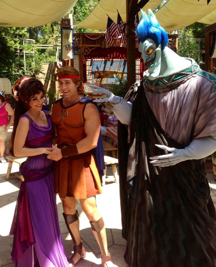 Meg, Hercules, Hades - Disneyland's Long Lost Friends Week Returns