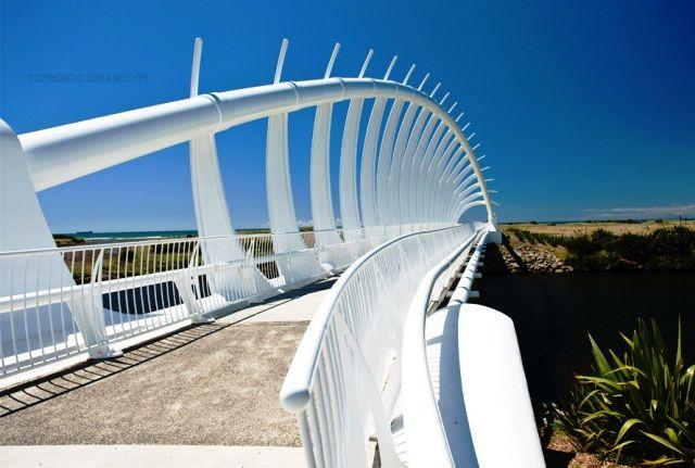 Puente Te Rewa Rewa, New Plymouth (Nueva Zelanda)