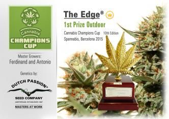 Dutch Passion Win Champions Cup 1st Prize with 'The Edge'