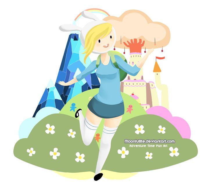 Adventure Time: Fiona by Moonfullite.deviantart.com on @deviantART