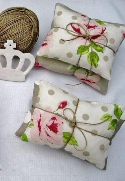 Pillow sachet, colors