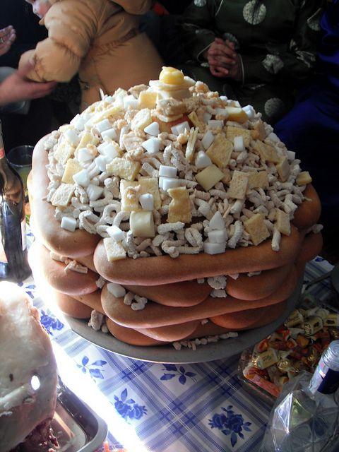 Ul Boov (shoe sole cake) is a traditional Mongolian cake ...