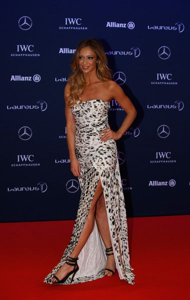 Kate Abdo Photos - Red Carpet -  2016 Laureus World Sports Awards - Berlin - Zimbio