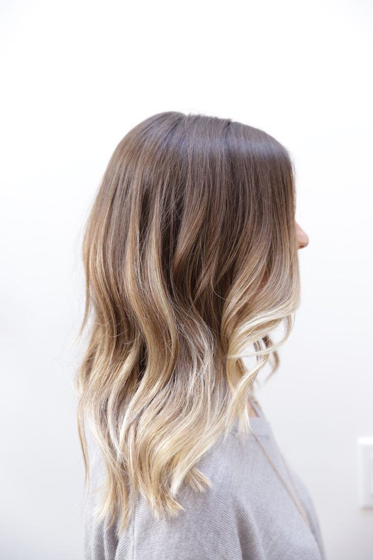 Ombre from blonde