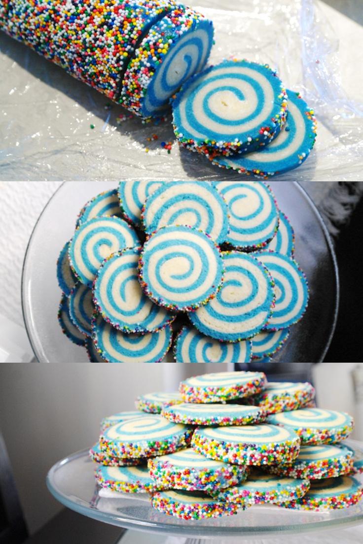 { swirly sugar cookies }