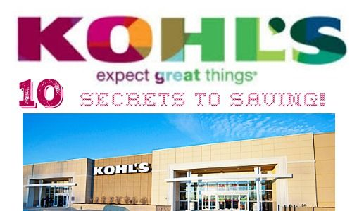 Are you a fan of Kohl's? There are several ways to save! Check out these secrets to saving.