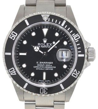 Rolex 16610 Rolex Submariner Black Dial Stainless Steel Men's Watch. Get the lowest price on Rolex 16610 Rolex Submariner Black Dial Stainless Steel Men's Watch and other fabulous designer clothing and accessories! Shop Tradesy now