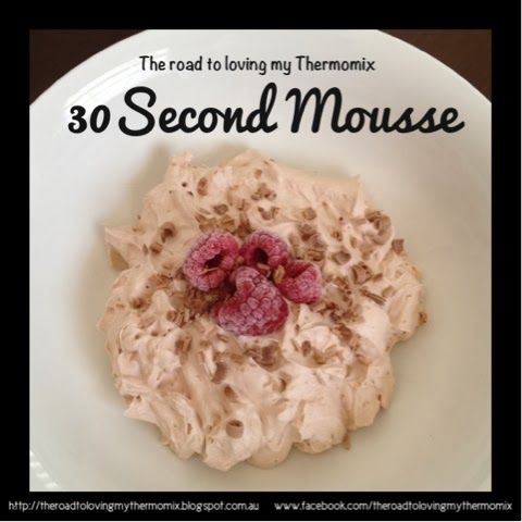 30 Second Mousse