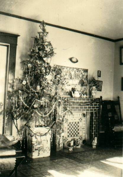 vintage christmas 1929