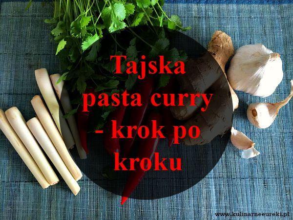 Tajska pasta curry