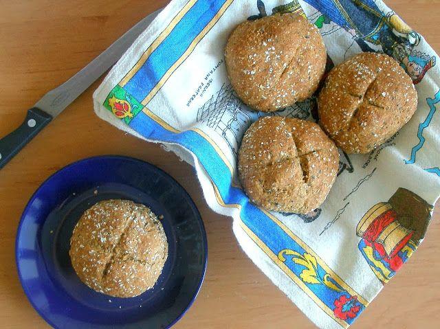 studentka na diecie.: irlandzkie bułki pełnoziarniste z otrębami w 15 minut (bez drożdży)