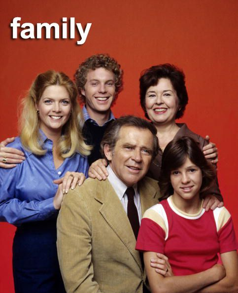 FAMILY 1976 TV Series.  Meredith Baxter Birney, Gary Frank, Sada Thompson, James Broderick, Kristy McNichol.