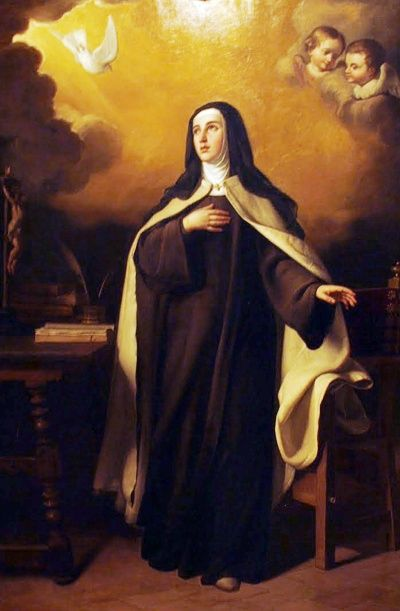 Novena to St Teresa of Avila by St Alphonus Liguori #pinterest Day 5 O most kind Lord Jesus Christ! we thank Thee for the great gift of humility which Thou didst grant to Thy beloved Teresa; we pray Thee, by Thy merits and by those of Thy most humble spouse to grant us the grace of a true humility which may make ............| Awestruck