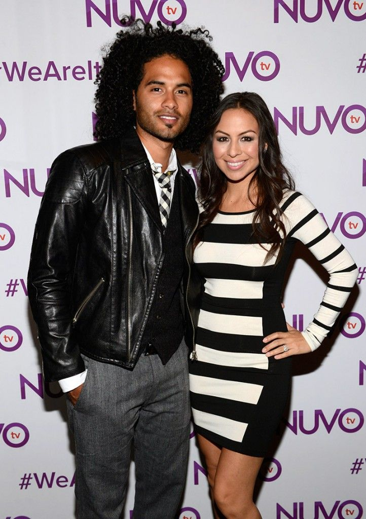 Gorgeous couple Anjelah Johnson and Manwell Reyes