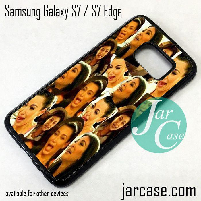 Kim Kadarshian Collage Phone Case for Samsung Galaxy S7 & S7 Edge