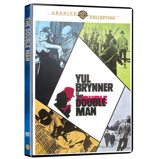 #harrypotter #hannabarbera The Double Man: Academy Award winner Yul Brenner stars in this taut espionage thriller as a CIA agent… #batman