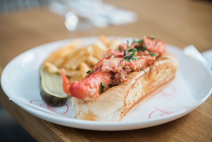 Connecticut Style is the lobster connoisseur's choice. There's little to hide with this style. It's lobster, bun and nothing else. OK, I lie…it's drenched in butter! The lobster is firm, yet so sweet. #foodporn #food #coffee #yummy #foodie #foodgasm #eat #Sydney #café