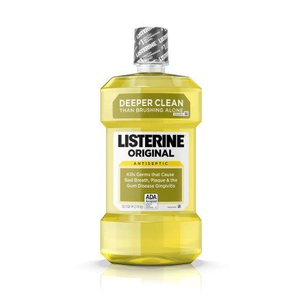 Listerine Original Antiseptic Mouthwash 1.5 L, Multicolor