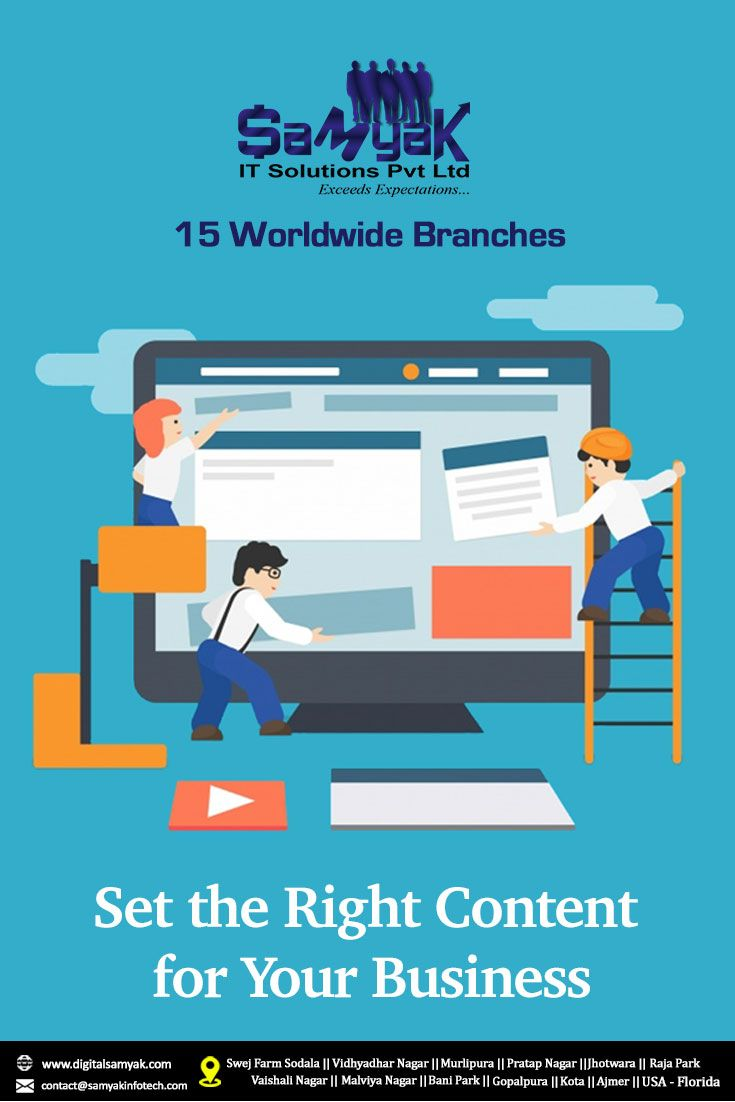 Set The Right Content For Your Business Web Development Portfolio Web Design Development