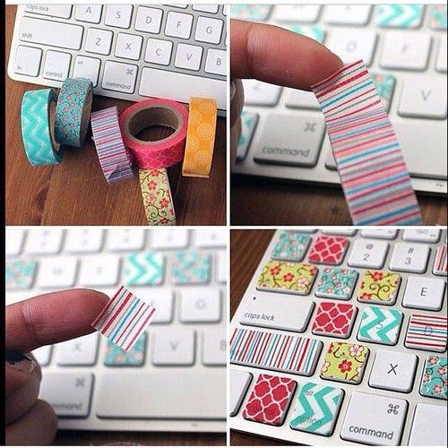 Decorate you keyboard!