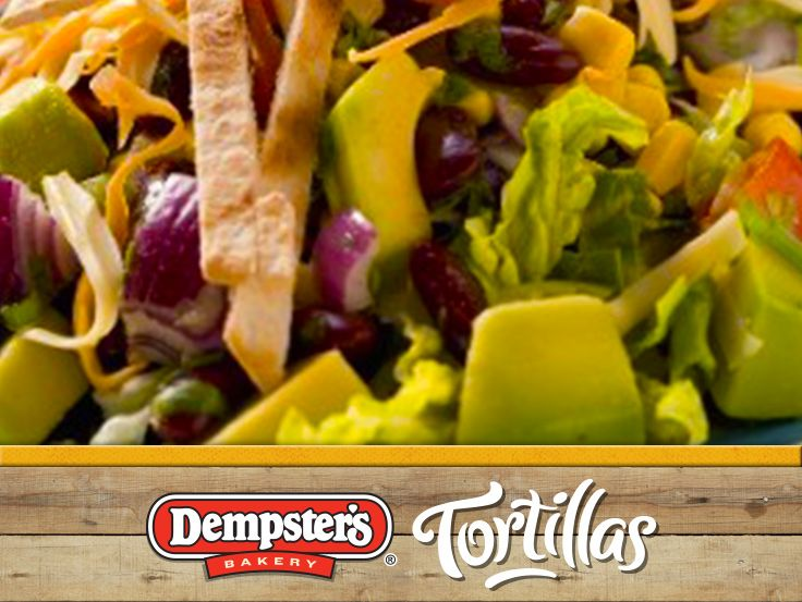 Refresh your day with a Tortilla Salad! @Dempster's® Bakery #WrapItUp