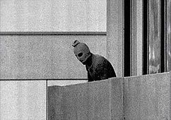 The Munich massacre is an informal name for an attack that occurred during the 1972 Summer Olympics in Munich, Bavaria, in southern West Germany, when members of the Israeli Olympic team were taken hostage and eventually killed by the Palestinian group Black September.