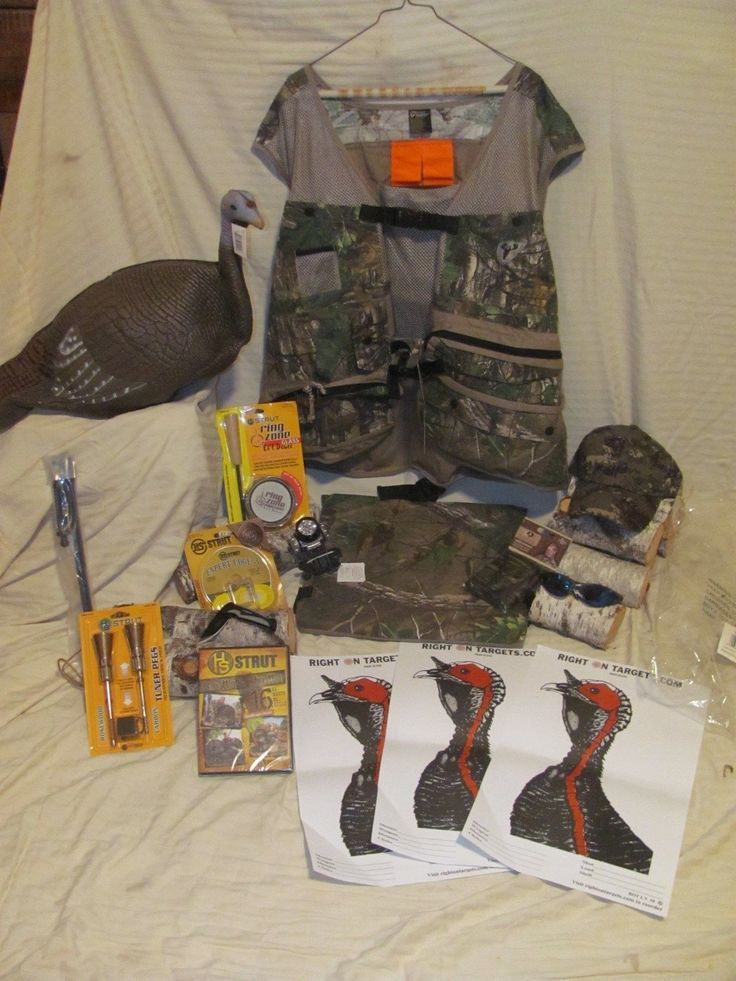NEW Turkey Hunting Gear Bundle-GREAT GIFT IDEA! ALL BRAND NEW ITEMS! DISCOUNTED!