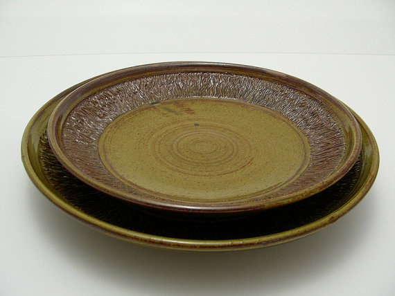 Amber Nesting Platter Set Sold As a Set by sibbotery on Etsy, $45.00