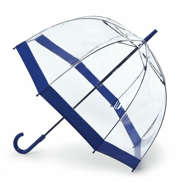Fulton bubble birdcage umbrella!