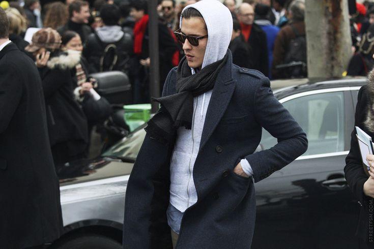 Hoodie + coat