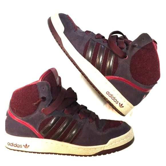 | Adidas | Old School High Top Sneaker - sz 7 Old school ...