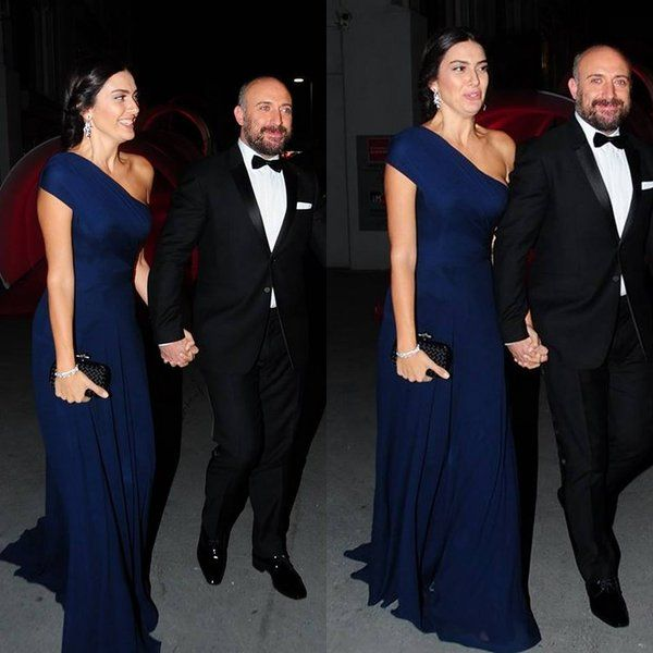 Halit Ergenç and Bergüzar Korel