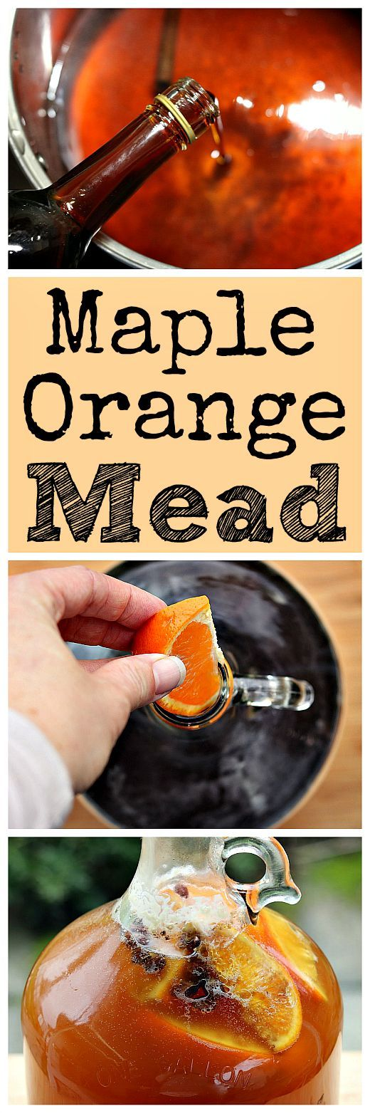 Here is a recipe for a tasty maple mead! This mead is made with pure maple syrup and honey.