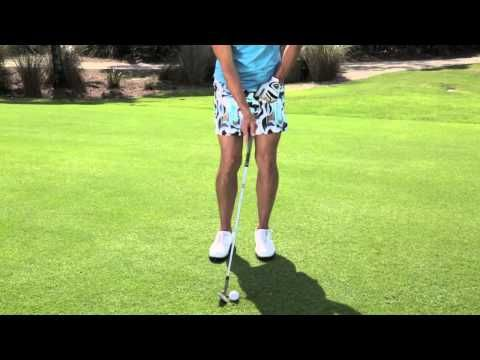 How To Hit High And Low Chip Shots - YouTube