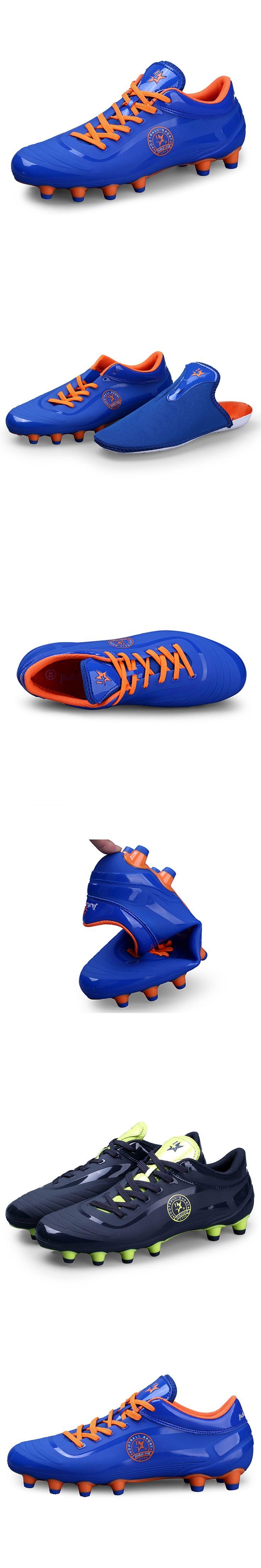High Quality Professional FG AG Football Boots Kids Children Men Breathable Soccer Shoes Cleats Botas De Futbol Size 33-44