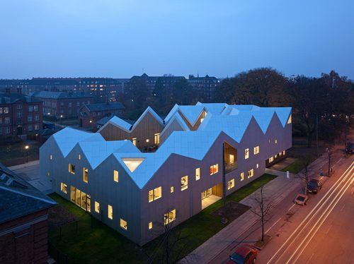 Copenhagen, Denmark  Healthcare Center for Cancer Patients  NORD ARCHITECTS