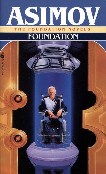 Foundation, Isaac Asimov Rated 4 Stars ⭐️⭐️⭐️⭐️