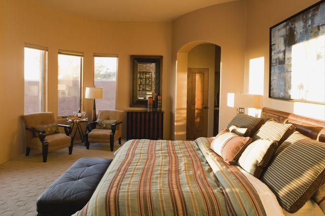 Warm and Welcoming, Tuscan Style is Perfect for the Bedroom: Updated Tuscan Style