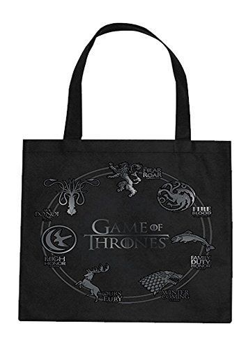 899197 MERCHANDISING GAME OF THRONES - SIGILS (BORSA LARGA SHOPPING)