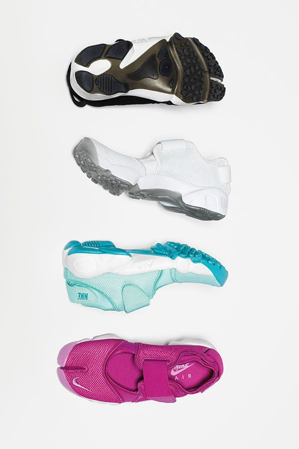 New colors. The Nike Air Rift Sportswear shoes are back with a
